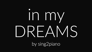 In My Dreams (Piano karaoke instrumental) Ruth B