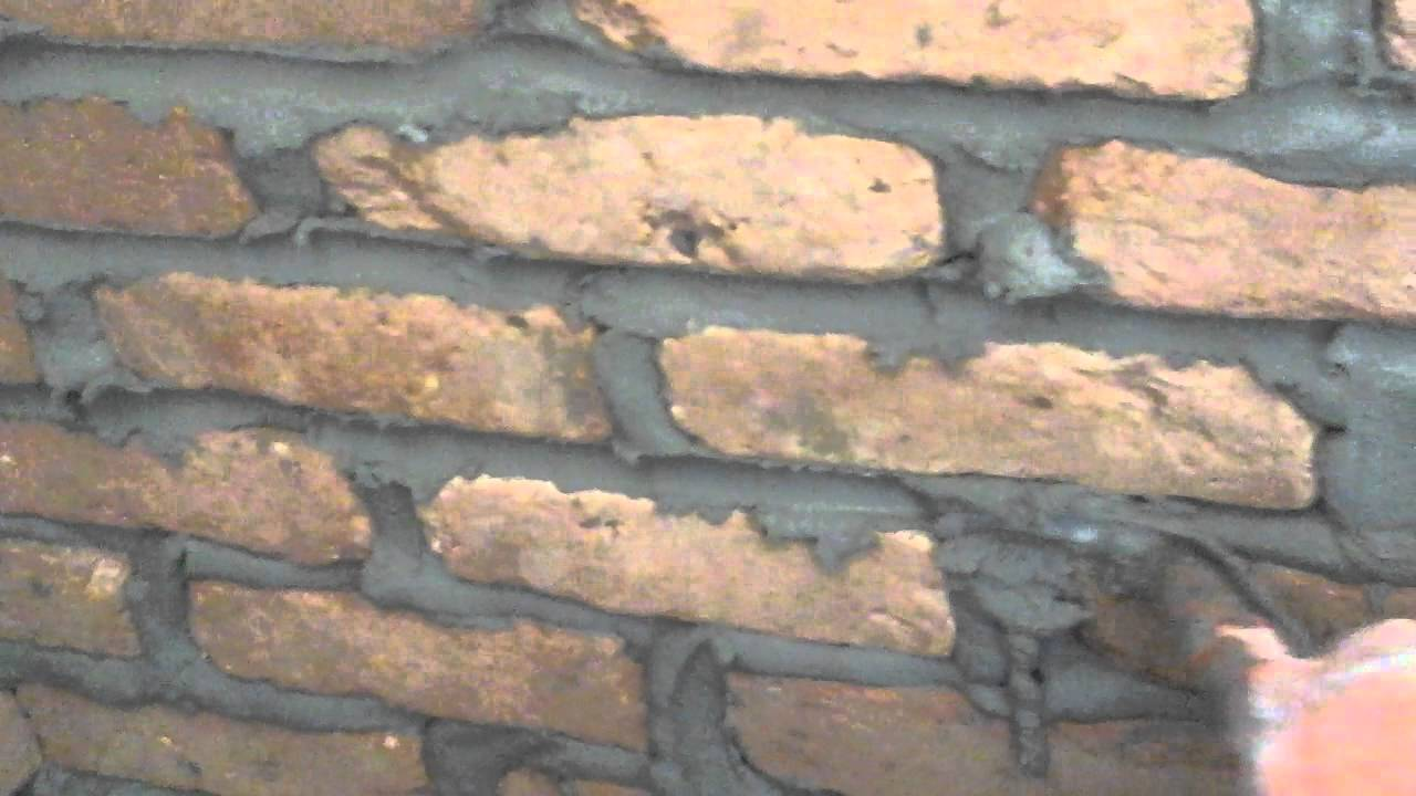 How To Install Old Chicago Brick Veneer Wall   YouTube