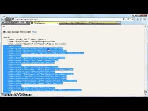 IE9 - #3 - JavaScript, JSON, jQuery and AJAX