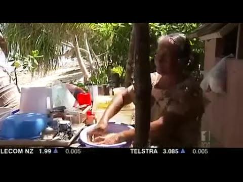 Aussie, NZ soldiers help drought-stricken Tuvalu