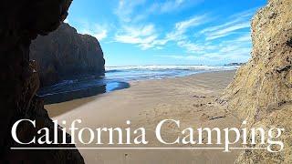 Dispersed Camping California! Camṗing California Redwoods Car Camping!
