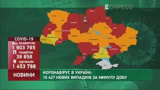 Коронавірус в Украі ні статистика за 15 квітня