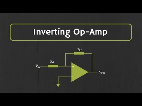 Operational Amplifier: Inverting Op Amp and The Concept of Virtual Ground in Op Amp