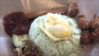 Qiji Nasi Lemak with Chicken Cutlet Singapore