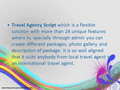 features of travel agency