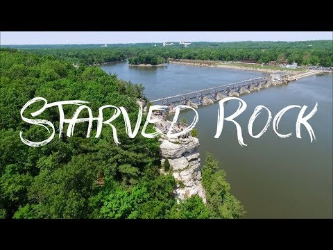Starved Rock State Park by DJI