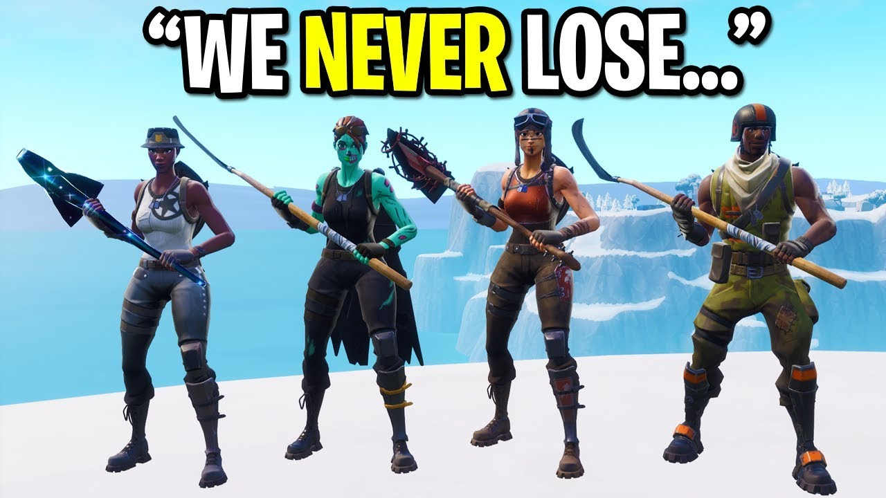 We Created The Rarest Fortnite Skin Squad Ever And This Happened All Og Skins Youtube