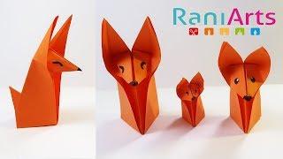 ZORRO DE ORIGAMI (Fácil)  - ORIGAMI FOX (Easy)