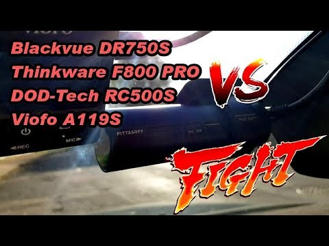 Blackvue DR750S Vs Thinkware F800 PRO Vs DOD RC500S Vs Viofo A119S [Extreme Test] Dashcam Review