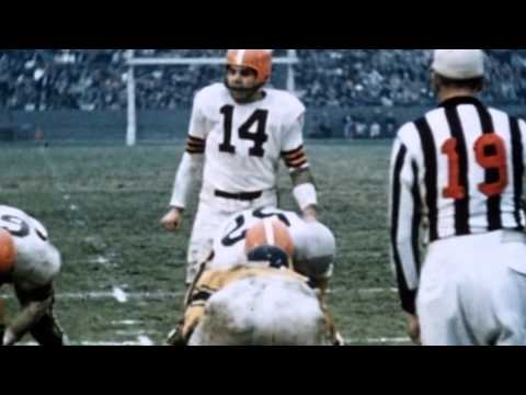 Two Minutes of Pro Football History: Otto Graham