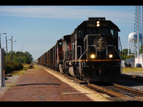 HD: September 2017 Trains w/IC, CN, BCOL, CSXT, UP, NS, CP, KCS