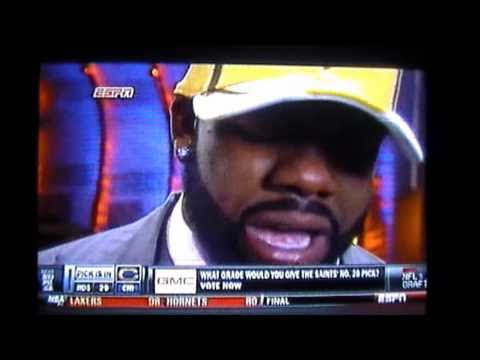 Mark Ingram 2011 NFL Draft New Orleans Saints