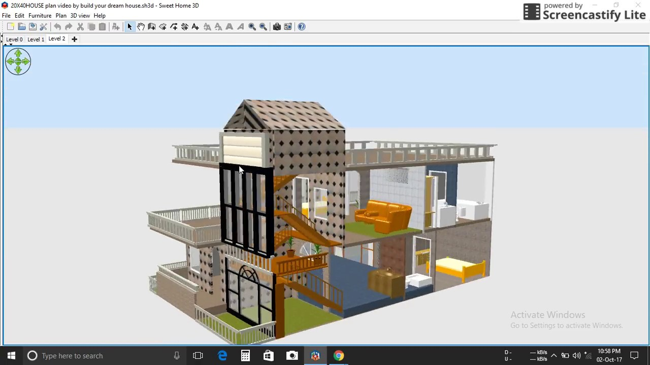 20x40 corner plot house 20x40 design video for House plan for 20x40 site