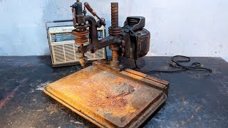 1958s Vintage Drill Press Hitachi Restoration