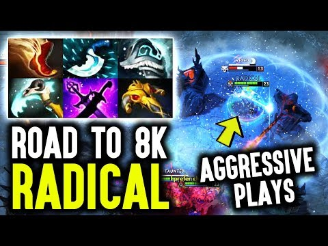 Radical Tinker - Road To 8k With Crazy Aggressive Plays Dota 2