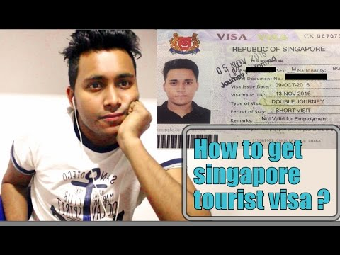 How to get Singapore tourist visa  | Durjay Sarkar