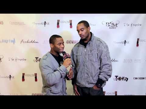 Rico Ball with ATL Red Carpet at Studio 11 Film's Red Carpet Premiere