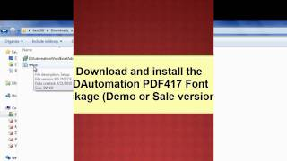 How to Encode a Tab (or Function)  in a PDF417 in Word