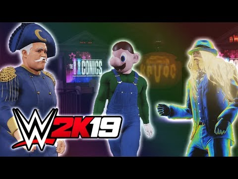 TAKIN' A CRUNCH OUT OF THE COMPETITION!! - NEW FUNNY WWE 2K19 GAME (ONLINE MULTIPLAYER)