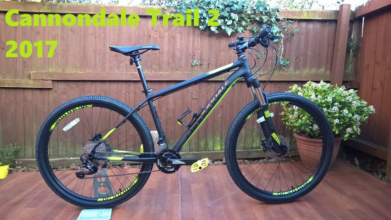 eaf360a7f88 Cannondale Trail 2 2017 Mountain Bike - YouTube