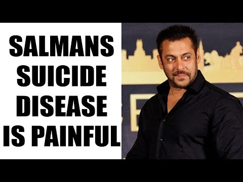 Salman Khan's Suicide Disease: Here's Know Everything About It | FilmiBeat