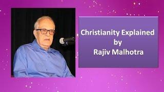 Cover images Christianity Explained by Rajiv Malhotra