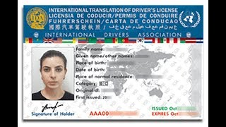 International Drivers Licence In NSW Australia
