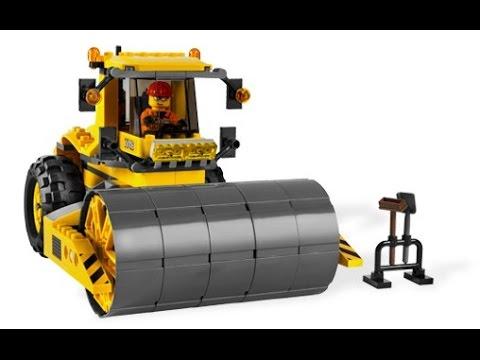 lego city le rouleau compresseur lego jouet pour les enfants youtube. Black Bedroom Furniture Sets. Home Design Ideas