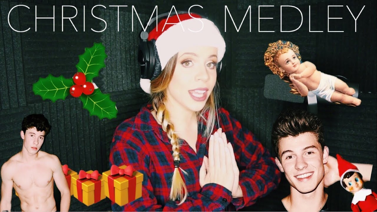 CHRISTMAS MASHUP (There´s Nothing Holding Me Back- Shawn Mendes )