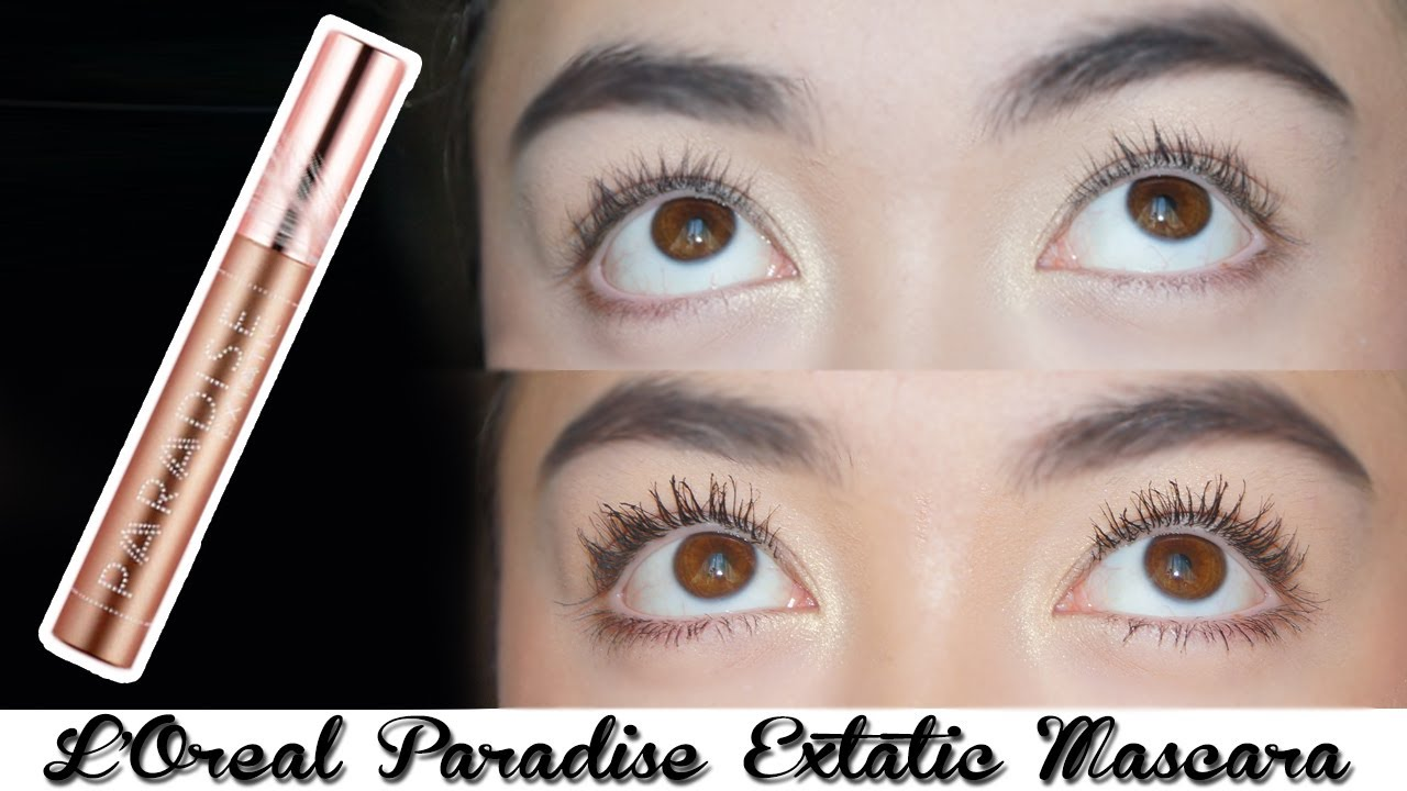 NEW L Oreal Paradise Extatic Mascara Review    Caroline Mystee - YouTube be85698ccf1