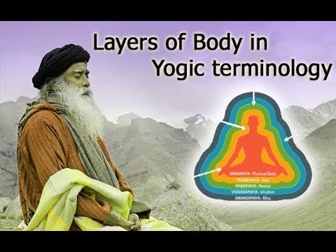 Layers of Body in yogic terminology   Sadhguru Speech