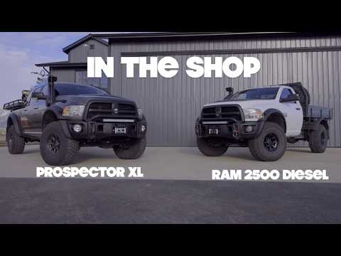 """In the Shop"" 03 : Dave Harriton's Prospector Walk Around"