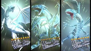 Yugioh Duell Links - KAIBA Alle Beschwören Animation - Blue-Eyes White Dragon - Neue Animation