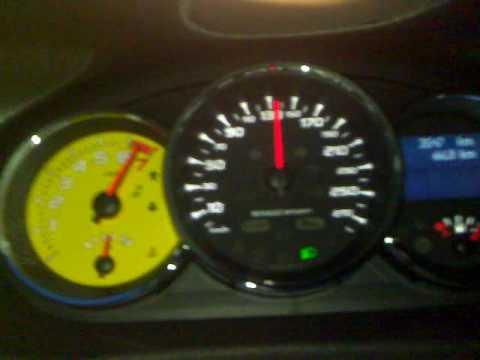 Renault Megane RS 250 acceleration