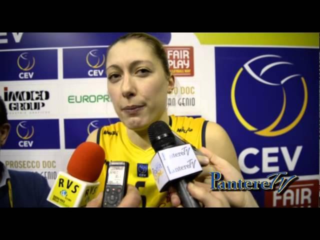 PALAVERDE. CEV CUP. Prosecco Doc Imoco Volley Vs Atom Trefl Sopot. 14 gennaio 2015