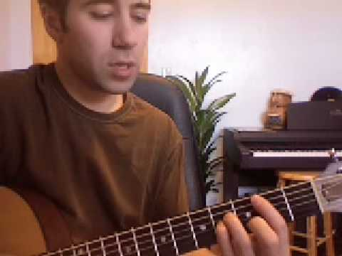 How To Play Flight Of The Conchords Bowie On Guitar Youtube