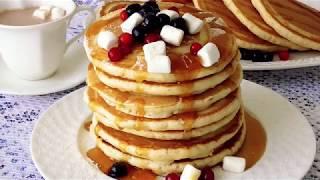 Классические американские Панкейки на молоке!***Classic American pancake milk!