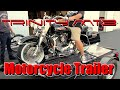 Motorcycle Trailer - 3 Rail Trinity MT3