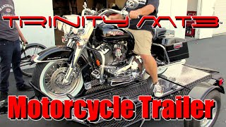 motorcycle trailer 3 rail trinity mt3