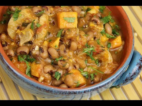 Stewed Black Eyed Peas For Good Luck | CaribbeanPot.com