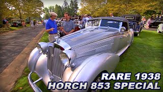 Ultra Rare and Exotic '38 Horch 853 Special Roadster | Glenmoor Gathering of...