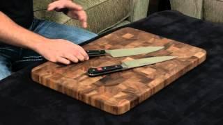 Wusthof Classic vs Wusthof Ikon — 8 Inch Chef's Knife.