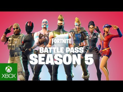 FORTNITE | BATTLE PASS SEASON 5 | AVAILABLE NOW