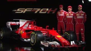 F1 2017 | The Launch of the Ferrari SF70H