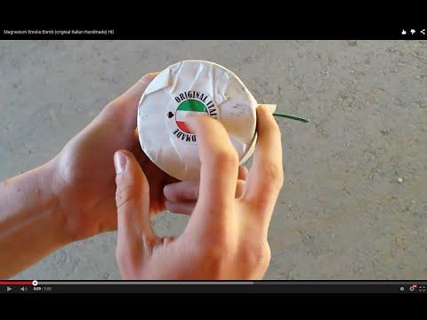 Magnesium Smoke Bomb (original Italian Handmade) HD