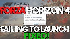 How to fix Forza Horizon 3 / Forza Horizon 4 small window splash
