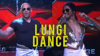 vuclip Deepika Padukone made Vin Diesel dance on Lungi Dance and it was EPIC!