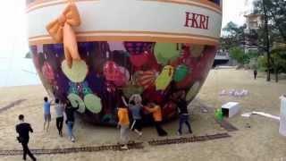 香港愉景灣復活節巨蛋 Hong Kong Discovery Bay Giant Easter Egg