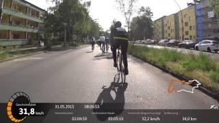 Garmin Velothon Berlin 2015 60 km Strecke komplett