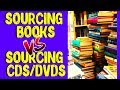 Book Sourcing VS CD DVD Sourcing - Selling Used Media On Amazon FBA 2019
